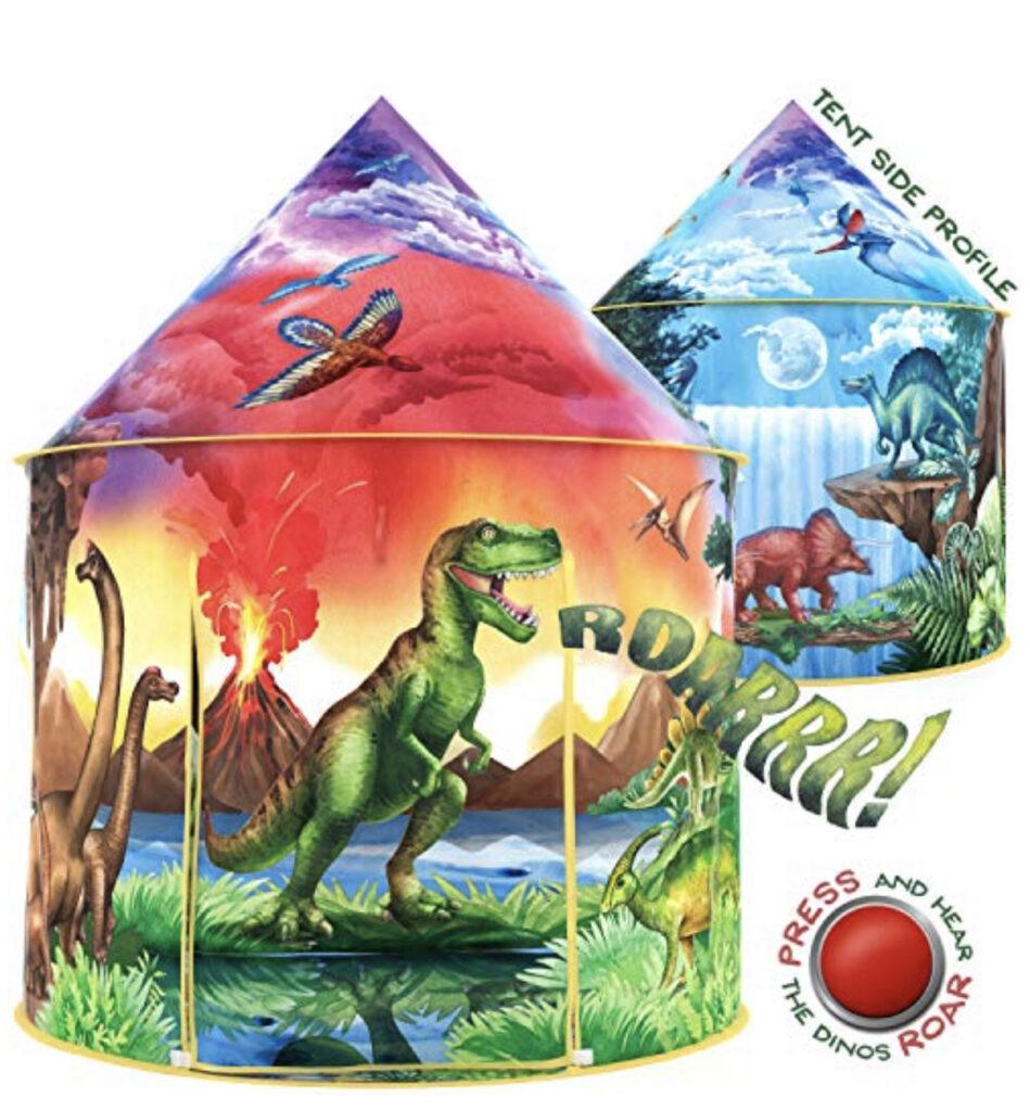 W & O Dinosaur Discovery Kids Tent