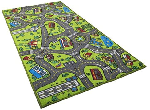 Rug City Traffic Play Mat