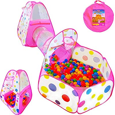 Playz 3pc Ball Pit Play Tent