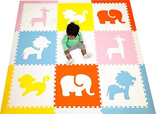 SoftTiles Kids Foam Playmat