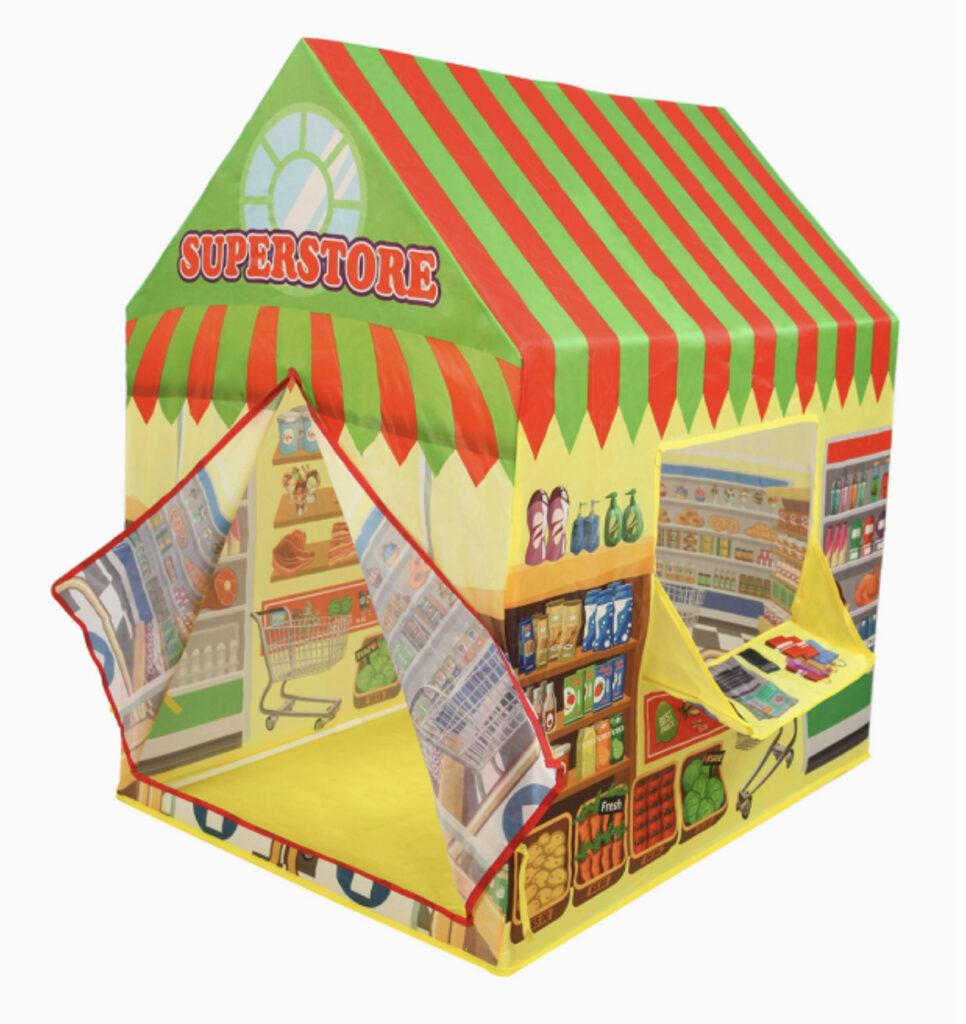 Kiddie Play Supermarket Playhouse Tent