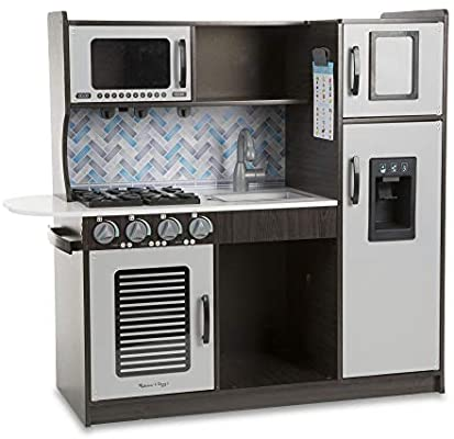 Melissa Doug Chefs Pretend Play Kitchen