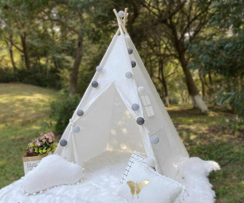 Rongfa Teepee Tent for Kids