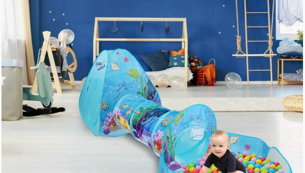 Best Ball Pits Play Tent