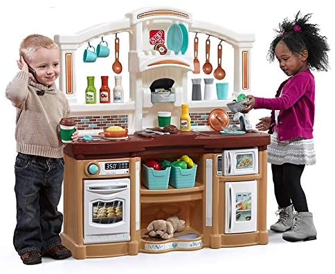 Step 2 Fun with friends play kitchen
