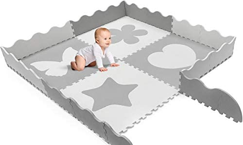 Sorbus Baby Play Mat Tiles
