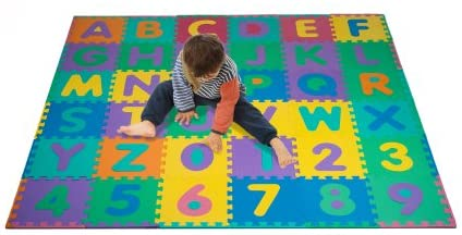 Foam Floor Alphabet