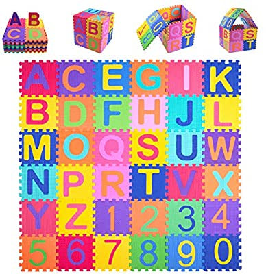 Kangler Kids Foam Puzzle Play Mat