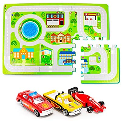 Boley Traffic Foam Play Mat