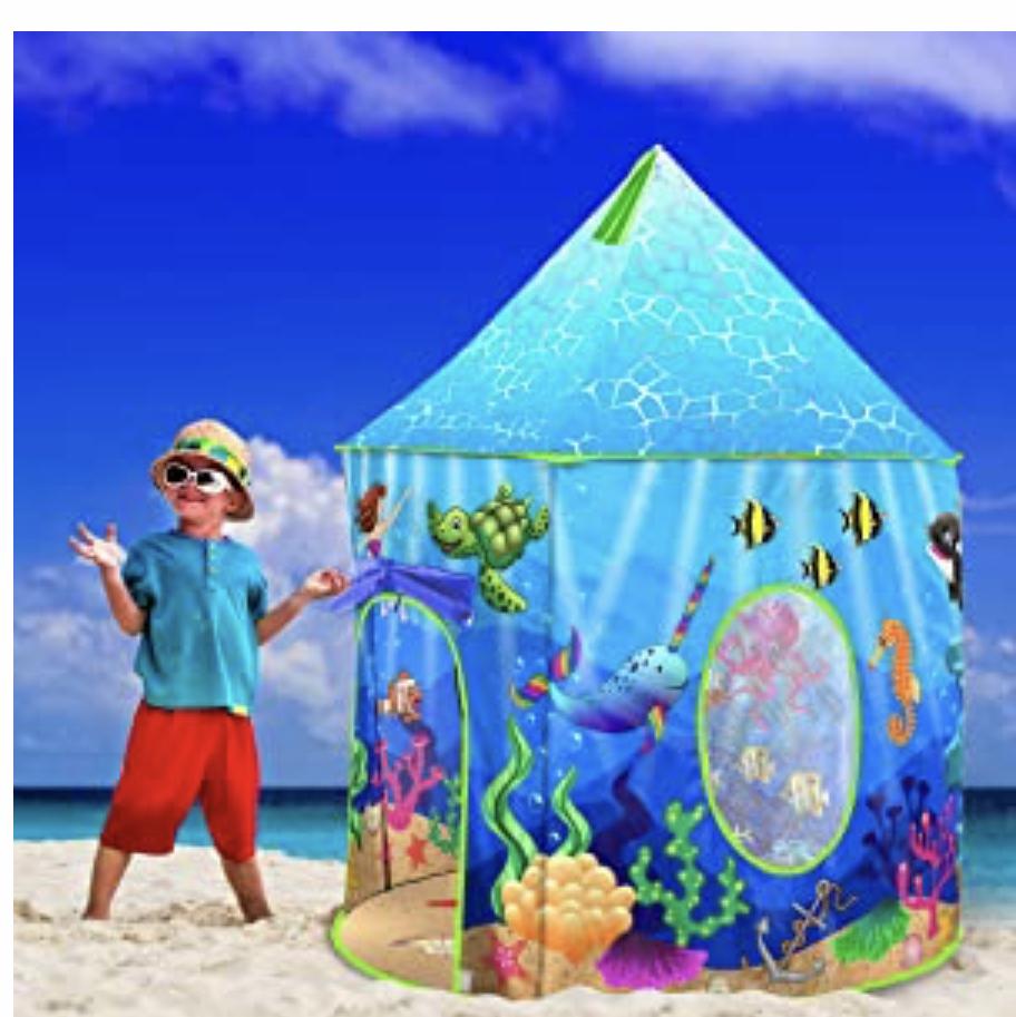 USA Toyz Mermaid Kids Tent
