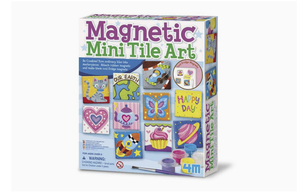 Magnetic Mini Tile Art Set