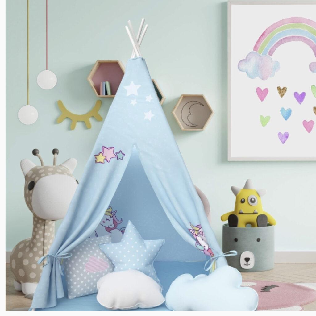 Atlasonix Unicorn Teepee Tent
