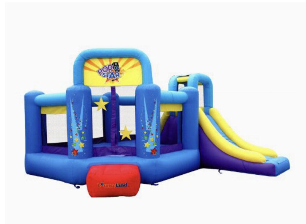 Bounceland Pop Star Inflatable Bounce House