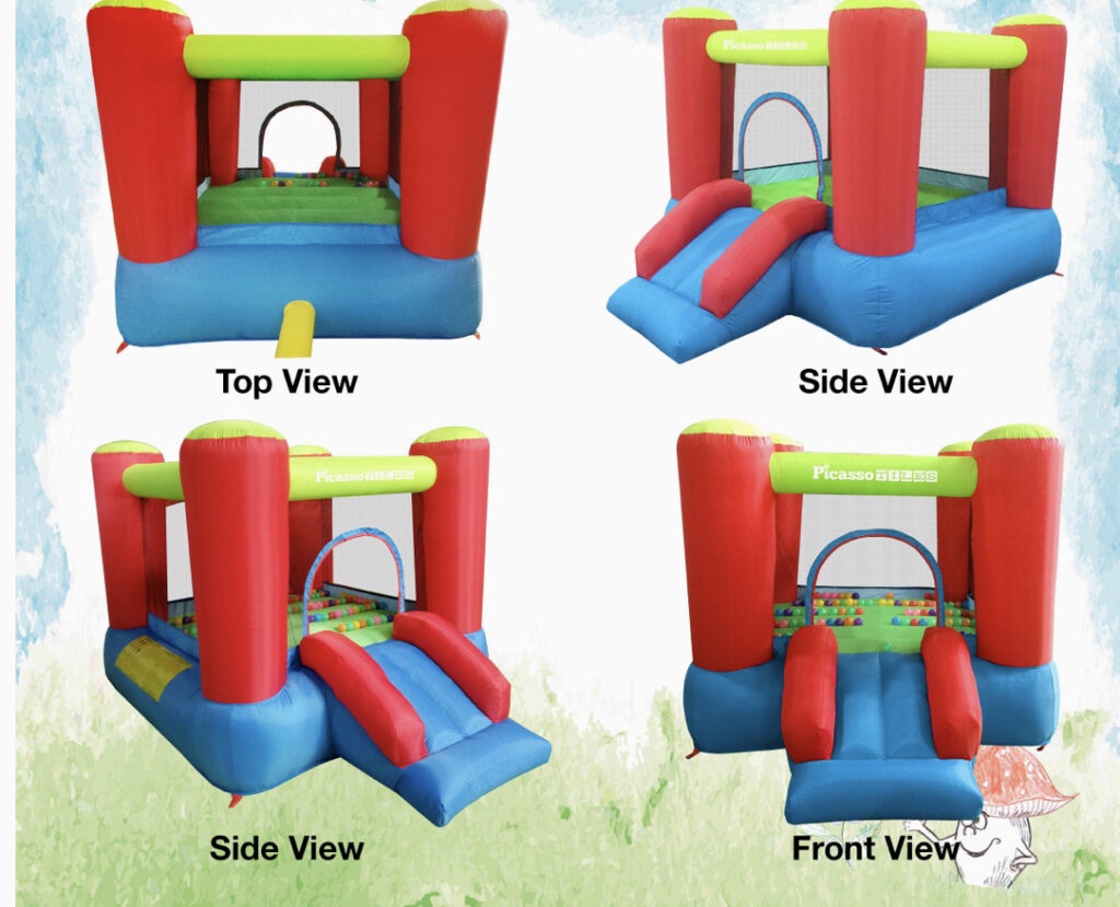 Picasso Tiles Inflatable Bouncer