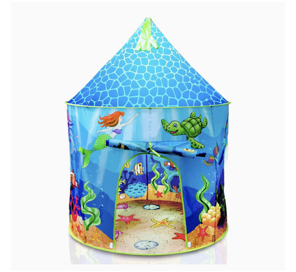 USA Toyz Mermaid Kids Play Tent