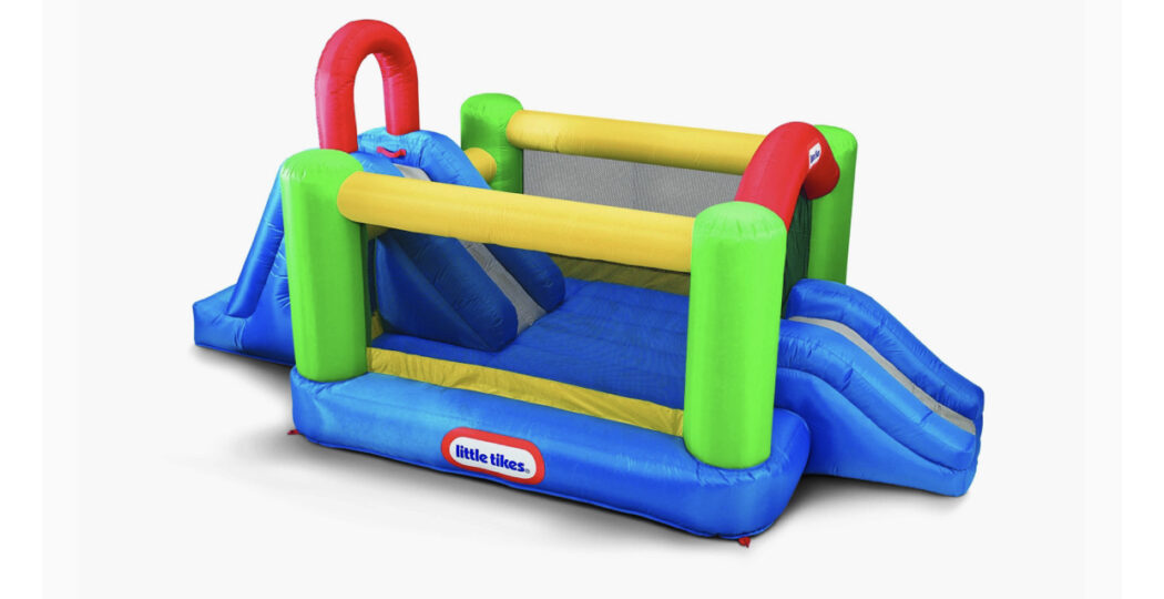 Little Tikes Double Slide Bouncer