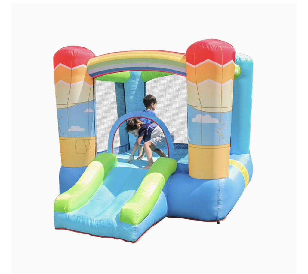 Doctor Dolphin Rainbow Bounce House