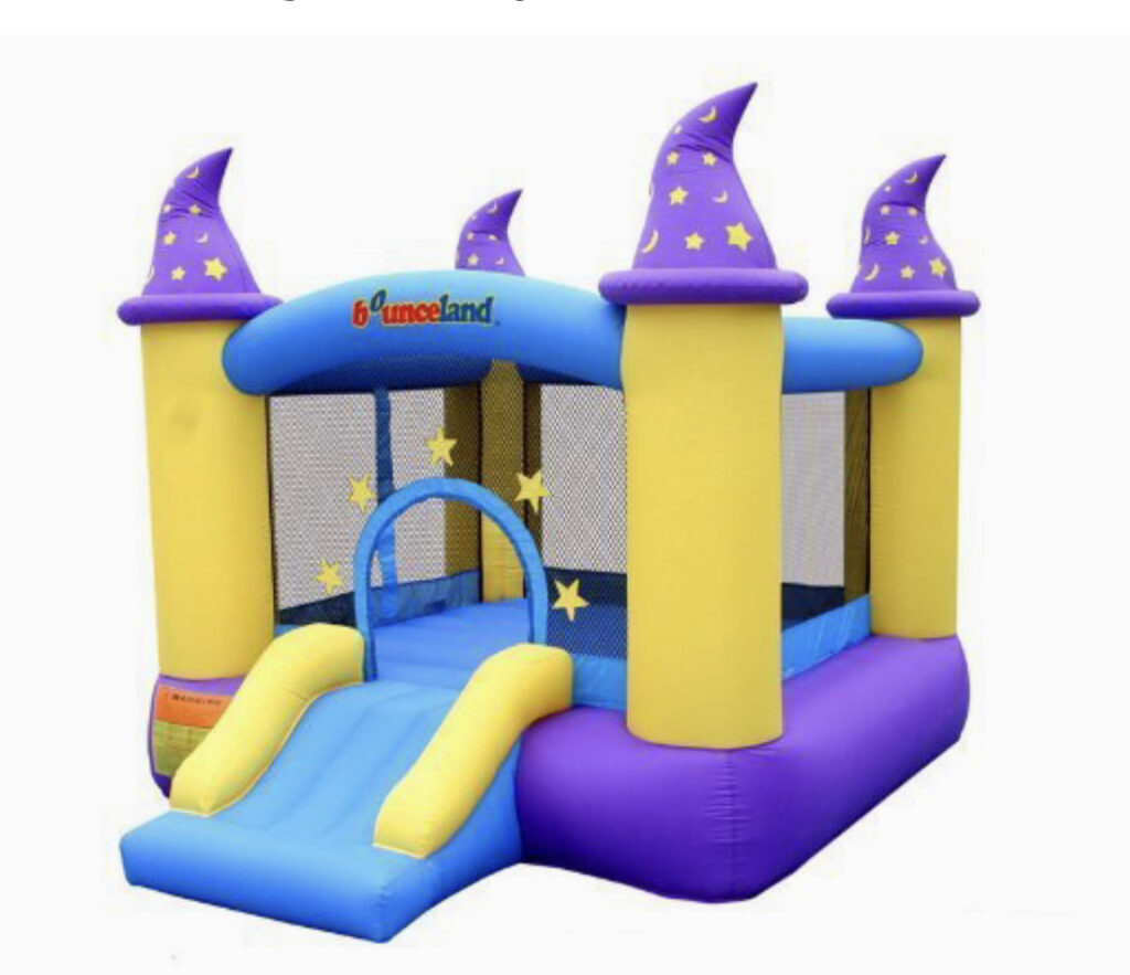 Wizard Inflatable Bouncer