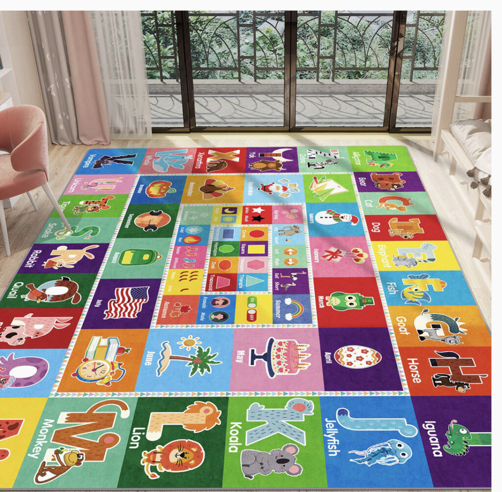 PartyKingdom Kids Play Mat