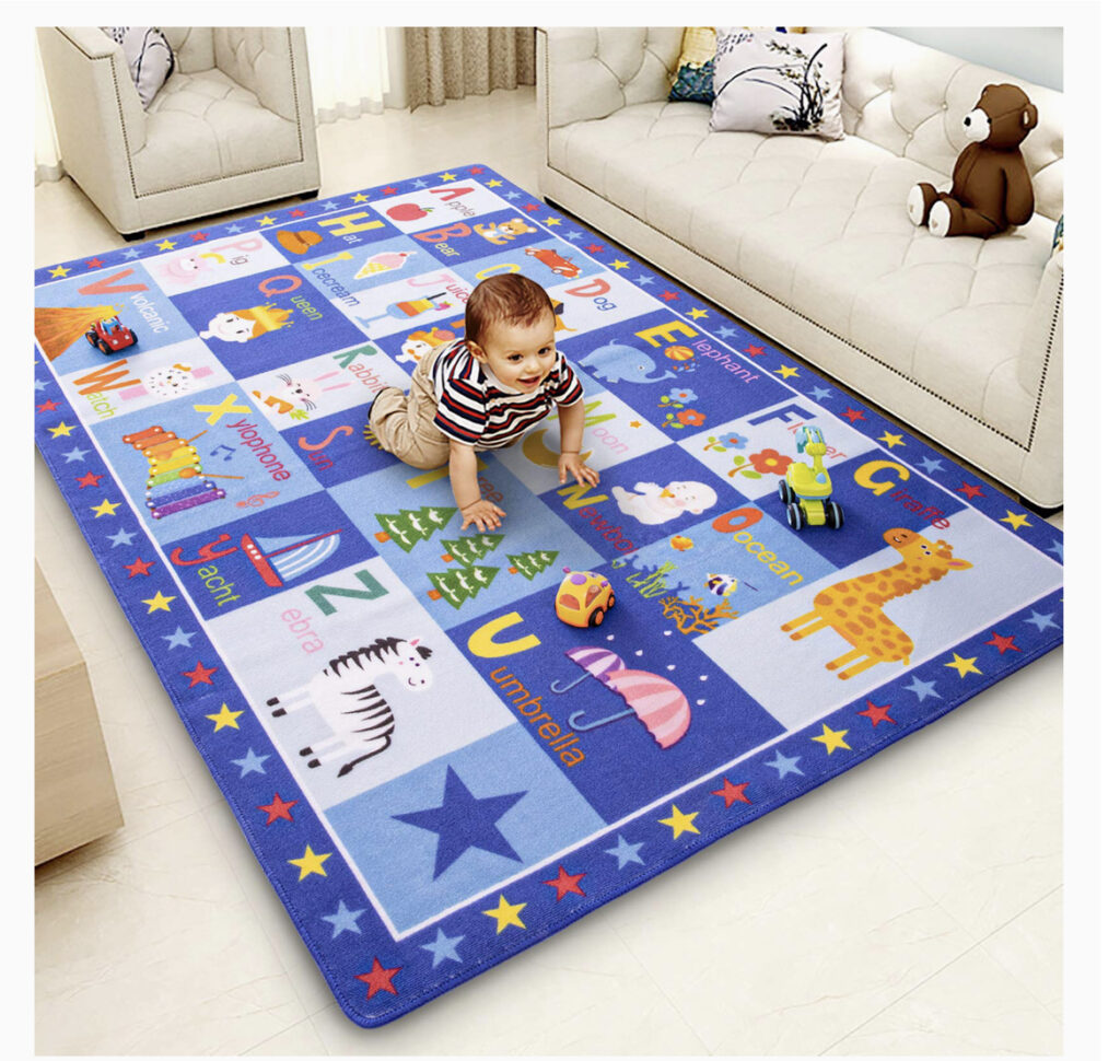 Terrug Kids Carpet Playmat Rug