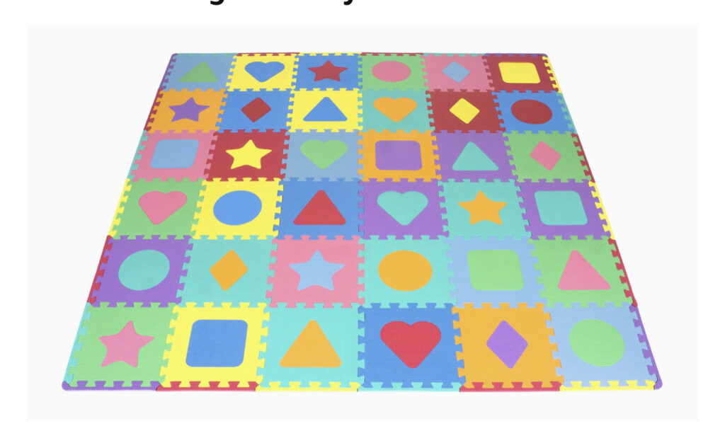 ProSource Kids Foam Play Mat