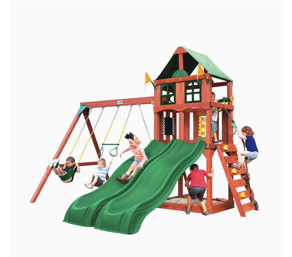 Gorilla Playsets With Slide